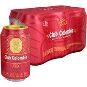 CERVEZA CLUB COLOMBIA ROJA LATA SIX PACK X 330 ML