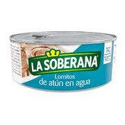 Atún  Lomo Fino en Agua Soberana Lata X 1.00 UND