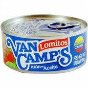 Atún  Lomo Fino Van Camps en Agua Lata X 1.00 UND