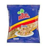 Pasta Conchas San Remo X 250 Grs