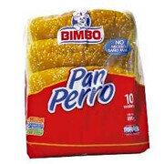 Pan Perro Bimbo X 10 Und
