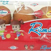 Ponquesito Ramo Ramitos X 6 Unds