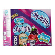 Alpinito Pouch Frambuesa X 6 Unds