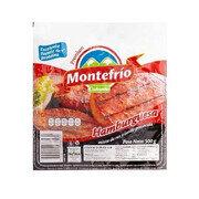 Carne Hamburguesa Montefrío X 7 Und X 500 Gr