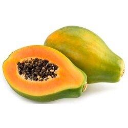 Papaya Hawaiana Verde X 1 Unidad Aprox 1 Kilo