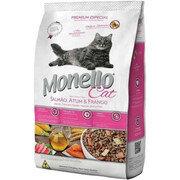 Monello Premium Cat Salmón Atún Pollo X 1 Kg