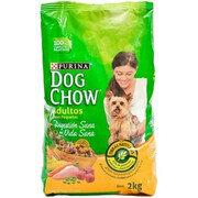 Dog Chow Adultos Raza Pequeña X 2 kg