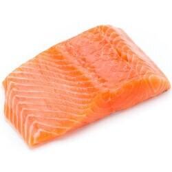 Filete de salmón porciones - Pescado X 1 Libra