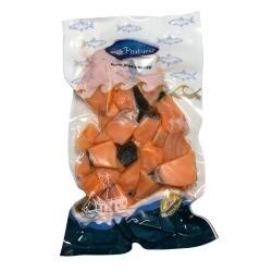 Bocados de salmón x 250 Gramos Aprox
