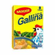 Caldo de Gallina Maggi X 8 Cubos