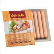 Salchicha De Pollo Super Hot Dog X 9 Und X 500 Gr-Pollo