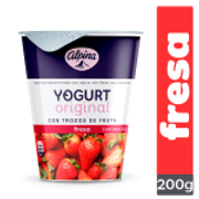 Yogurt original Fresa