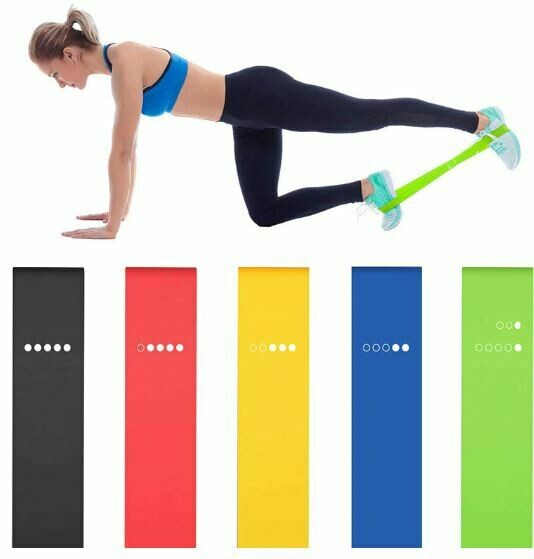 Package of 5 resistance bands