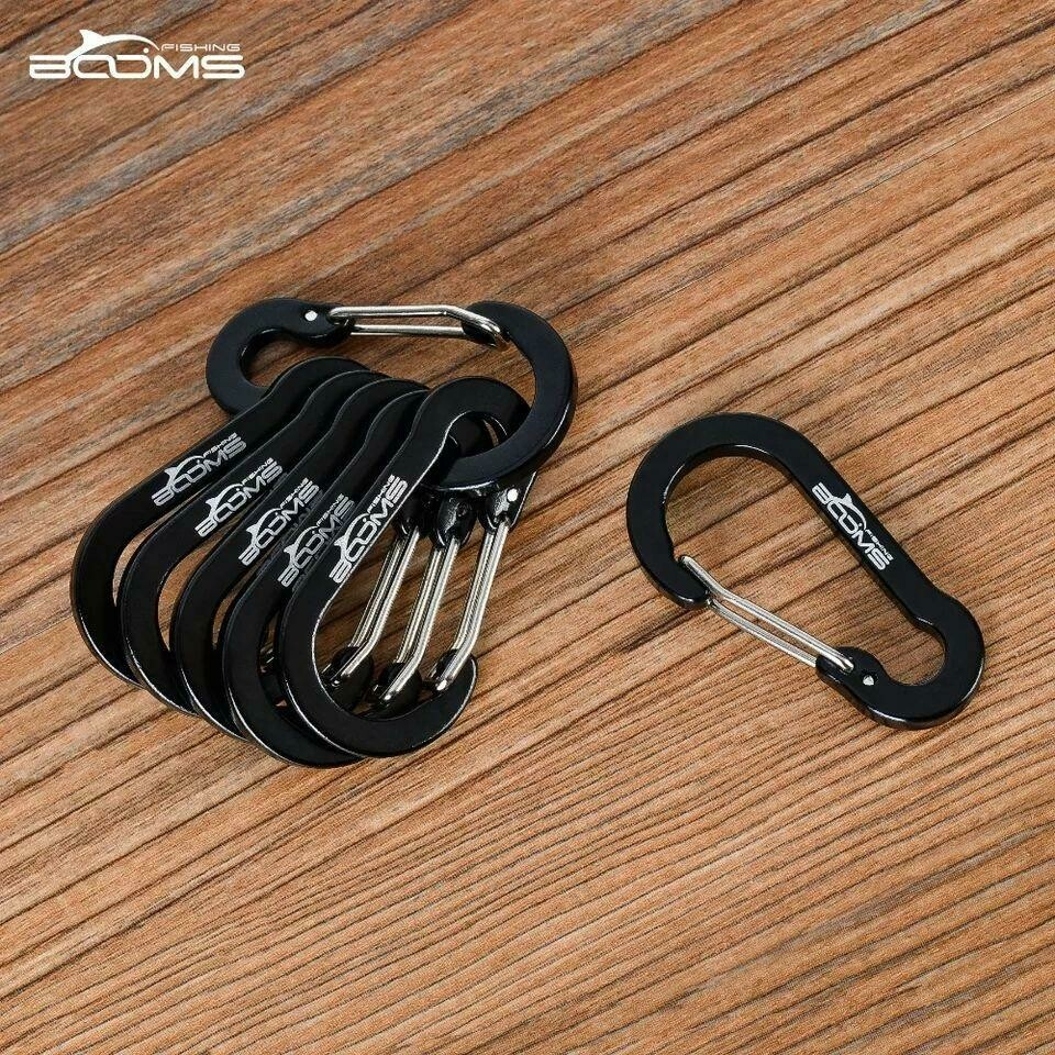 Package of 6 carabiners