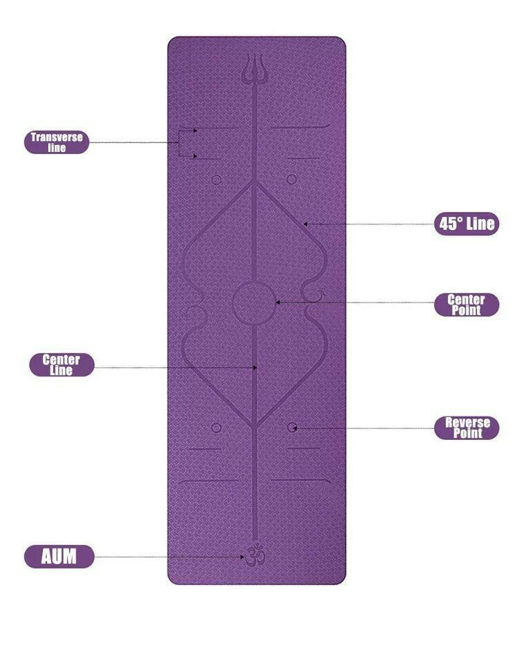 Mat for yoga and workout