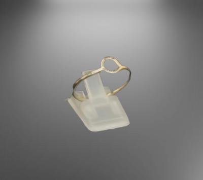 Sterling Silver enkel Simpel style ring