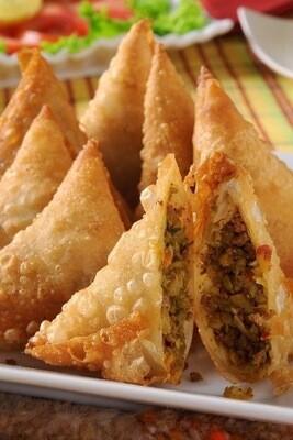 11.Ka Li Kok Driehoekjes In Currysmaak (5st)