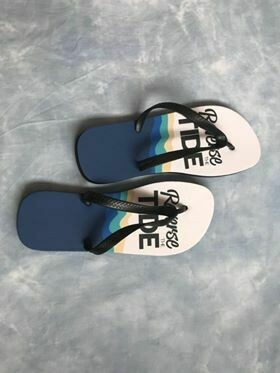 Reverse The Tide Flip Flops