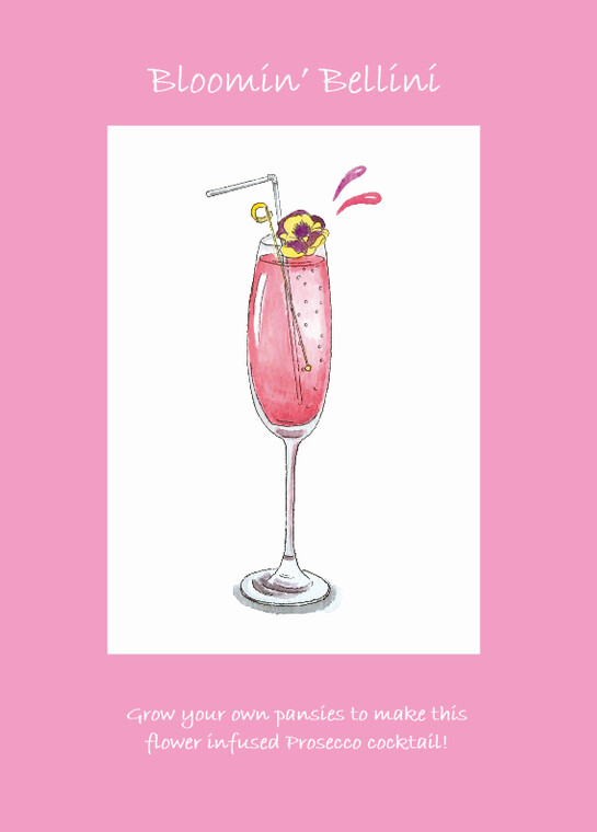 Cocktails With Love - Bloomin' Bellini