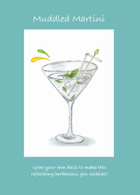 Cocktails With Love - Muddled Martini