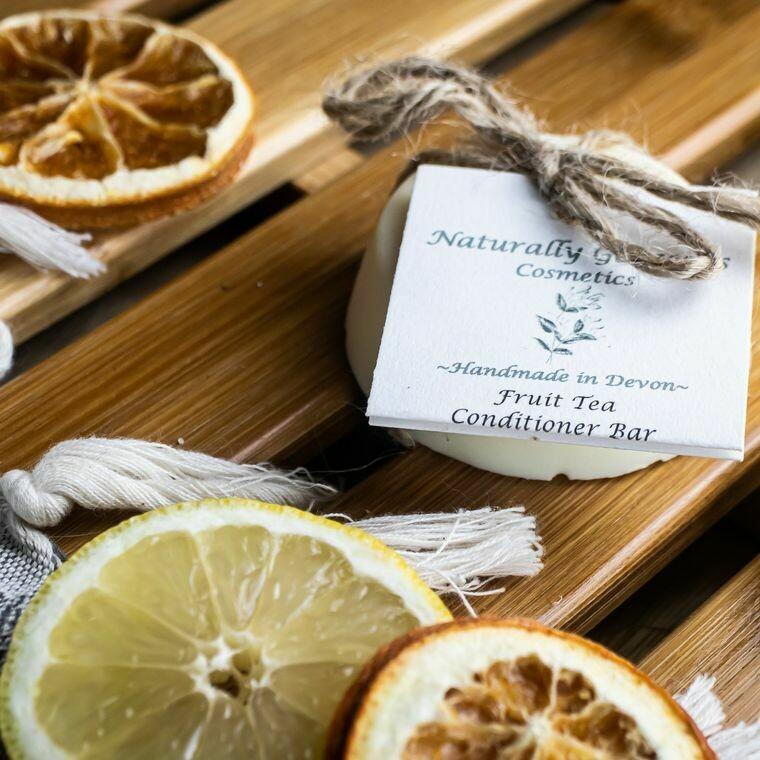 Fruit Tea Conditioner Bar with Lemongrass, Grapefruit and Tea Tree 100g