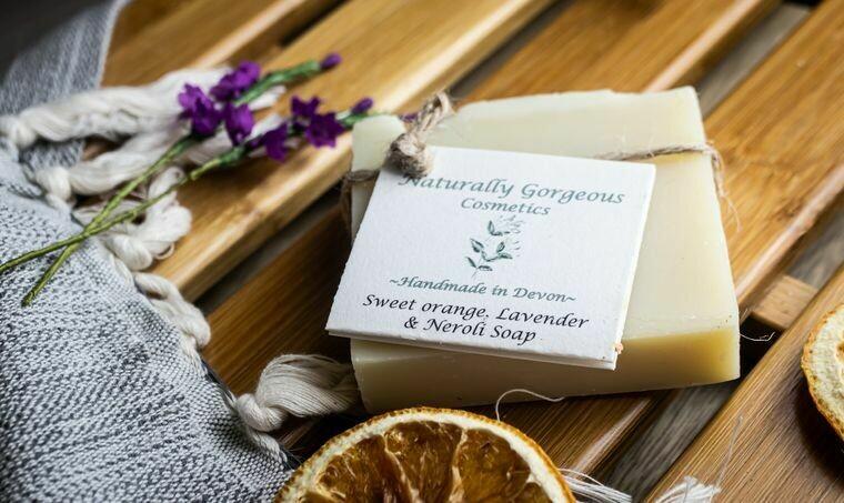 Sweet Orange, Lavender and Neroli Soap 100g