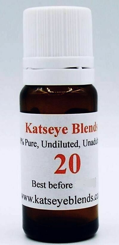 Blend 20 - Broken sleep, Insomnia Essential Oil Blend x 5 ml 100% Pure and Undiluted
