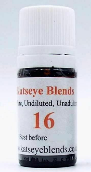 Blend 16 - Hair & Scalp Treatment Essential Oil Blend x 5ml 100% Pure and Undiluted