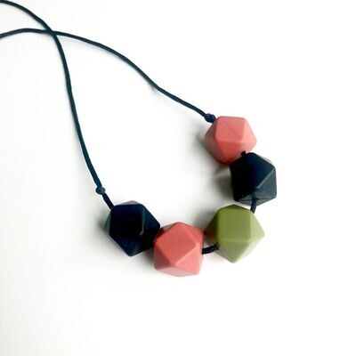 Autumn Hue Silicone Teething Necklace