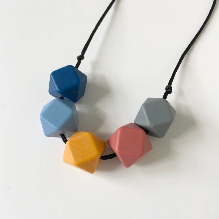 Fired Earth Silicone Teething Necklace