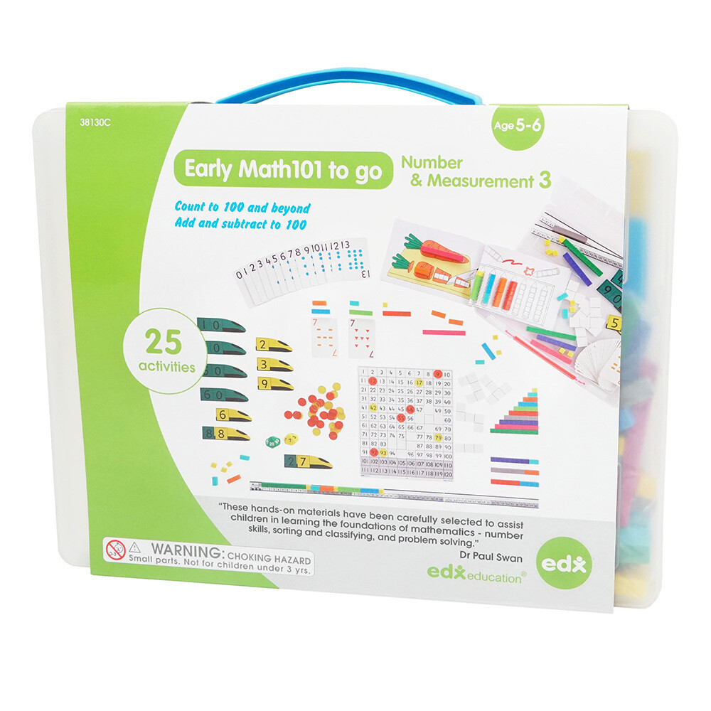 Early Math 101 - Numbers & Measurement - Level 3