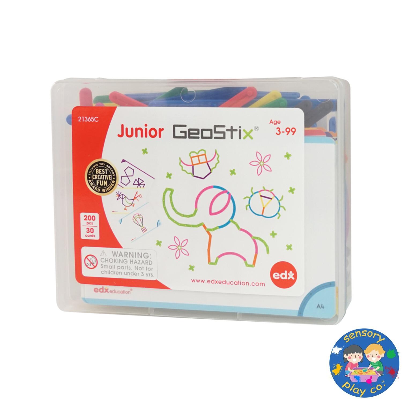 Junior Geostix (200 flexible sticks, 30 double-sided Activity cards)