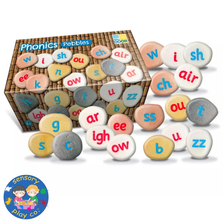 Phonics Pebbles (Set of 64 stones)