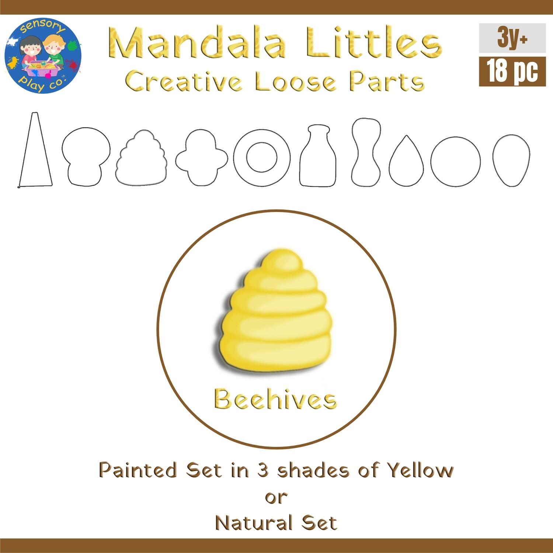 Mandala Littles - Beehives (18 pcs)