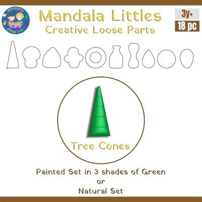 Mandala Littles - Tree Cones (18 pcs)