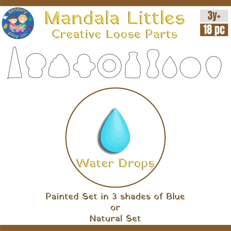 Mandala Littles - Water Drops (18 pcs)