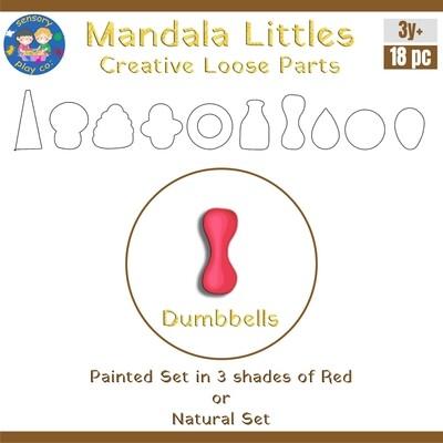 Mandala Littles - Dumbbells (18 pcs)