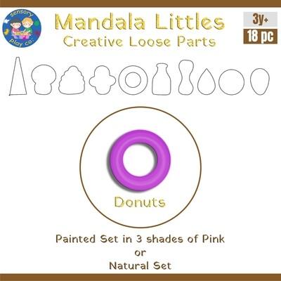 Mandala Littles - Donuts (18 pcs)