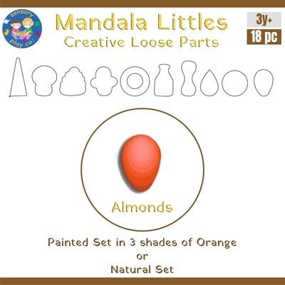 Mandala Littles - Almonds (18 pcs)