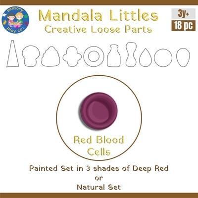 Mandala Littles - Red Blood Cells (18 pcs)