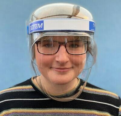 10 Salutem Face Shields - £2.50 each