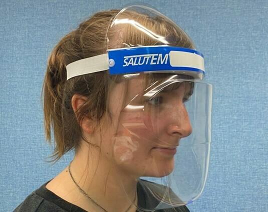 40 Salutem Face Shields - £2.50 each