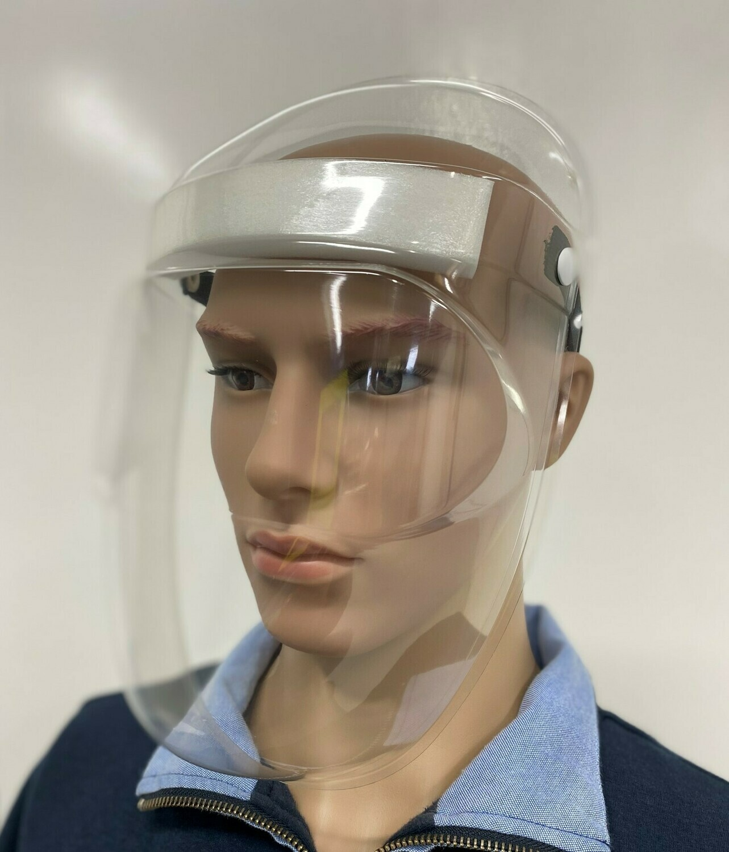 5 Salutem Shields without headband sticker