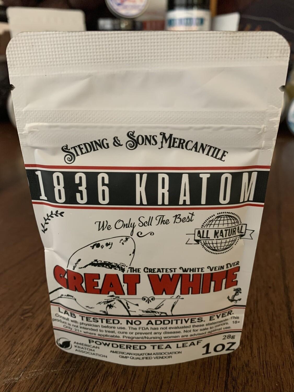 Great White - Powdered Leaf - 5 Sizes!