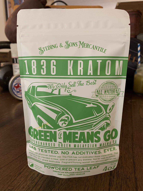 Green Means Go - Powdered Leaf - 5 Sizes!