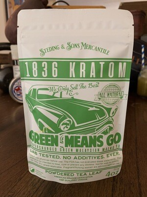 Green Means Go - Powdered Leaf - 5 Sizes!