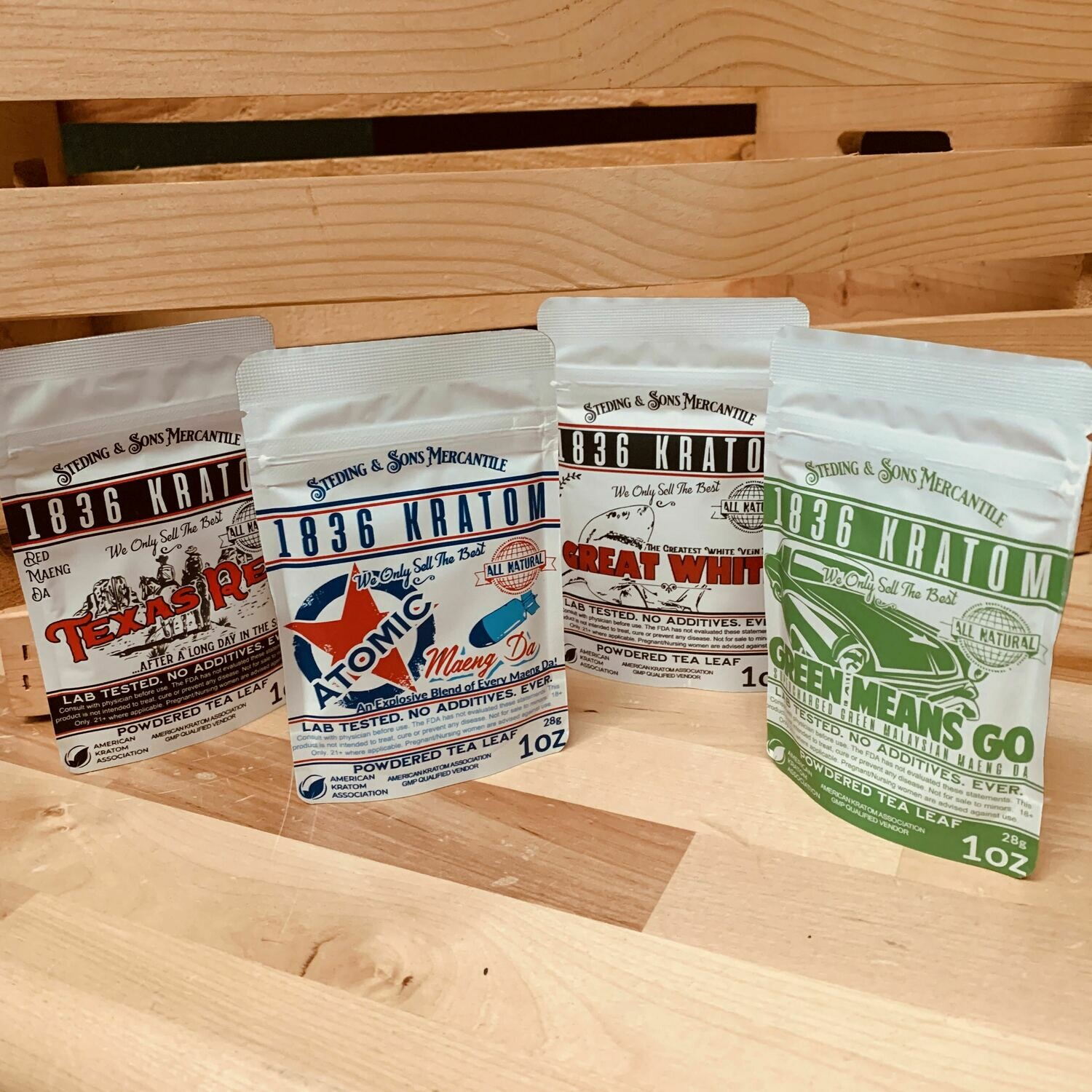 1836 Powder - Primary Strains Sample Pack. Our Best Sellers!