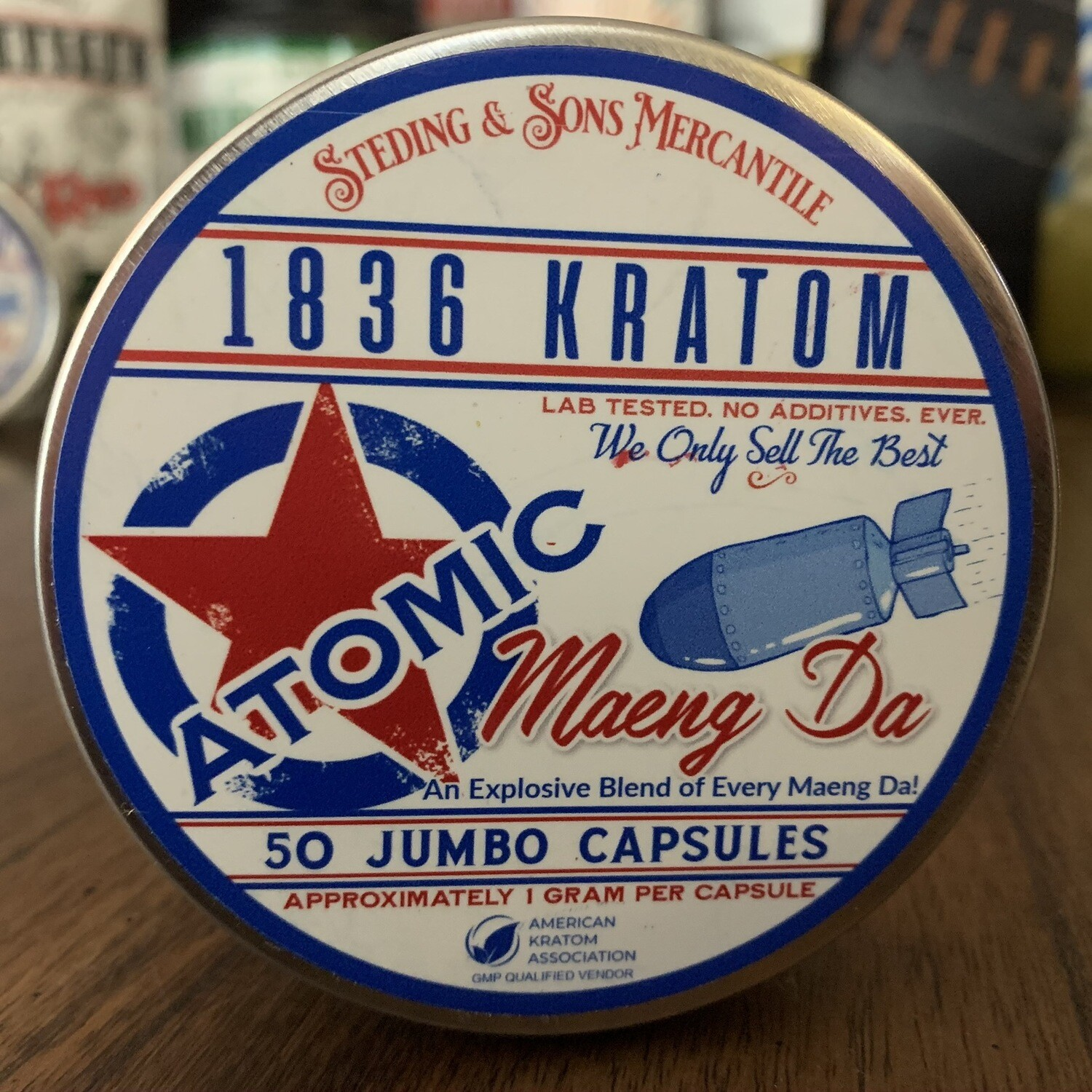Jumbo Capsules -Atomic Maeng Da - 3 sizes!