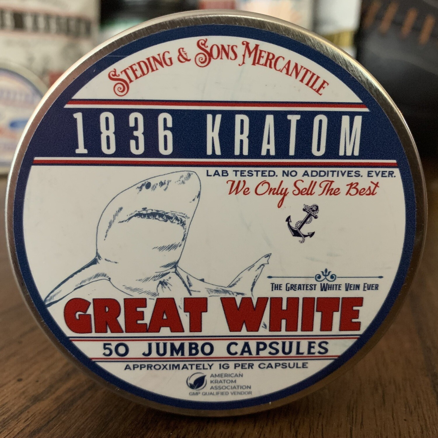 Jumbo Capsules - Great White - 3 Sizes!