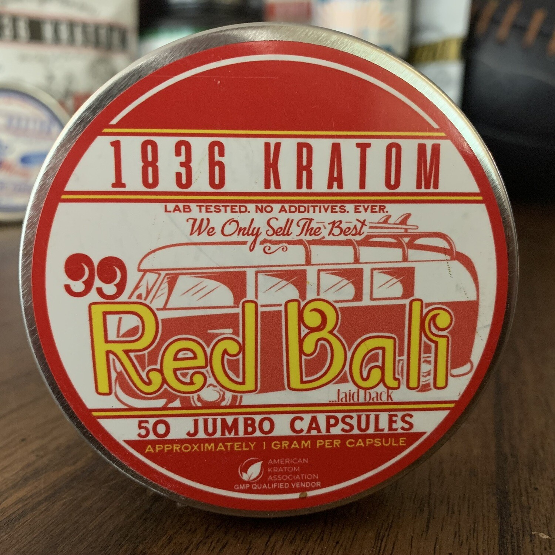 Jumbo Capsules - 99 Red Bali - 3 Sizes!
